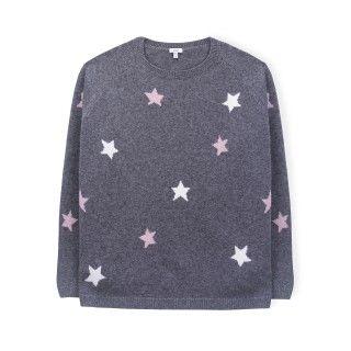 Stars tricot sweater