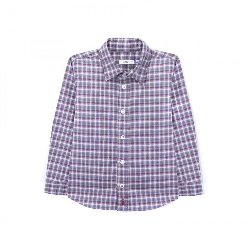 Camisa menino algodão Ennis