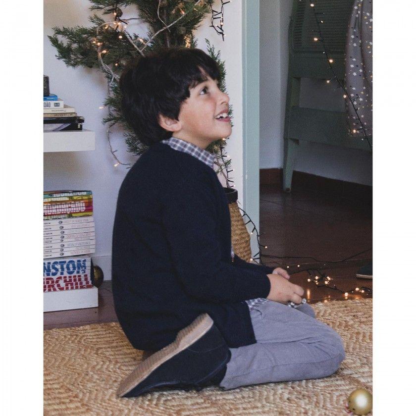 Casaco menino tricot clyde