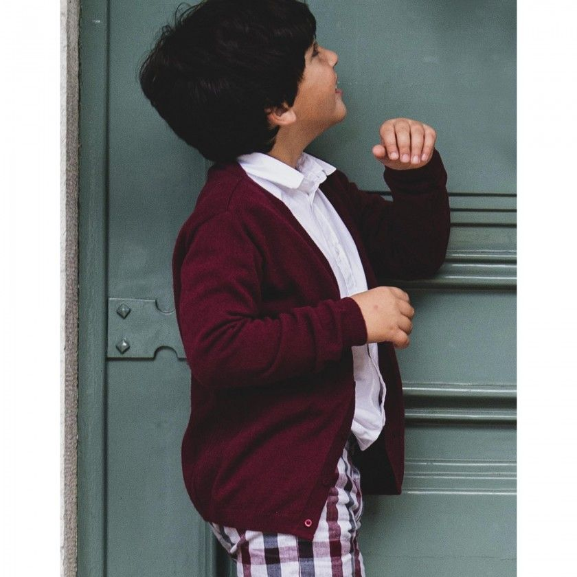 Clyde boys knitted cardigan