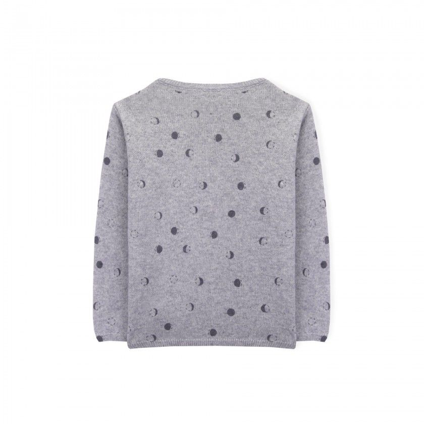 Moons girls knitted jacket