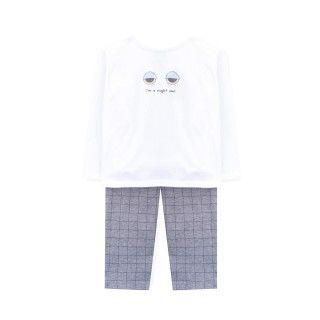 Pajama baby cotton Sunrise Night Owl