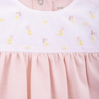 Rose cotton Babygrow