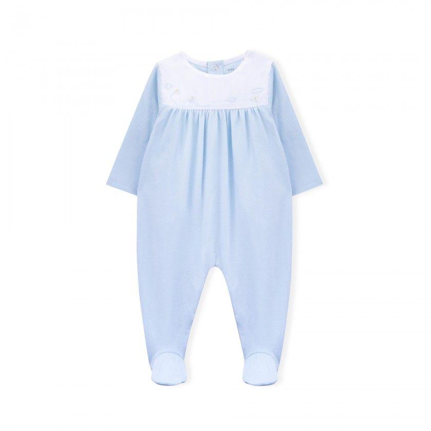 Blue Skies Babygrow