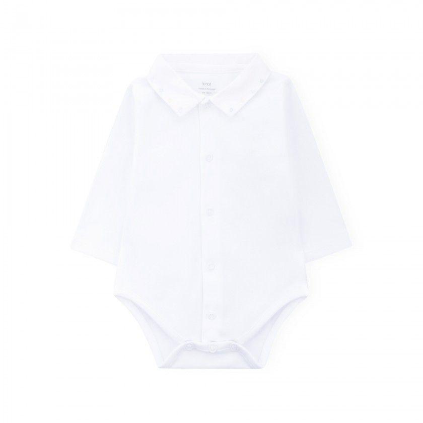 Body bebé manga comprida Triangles
