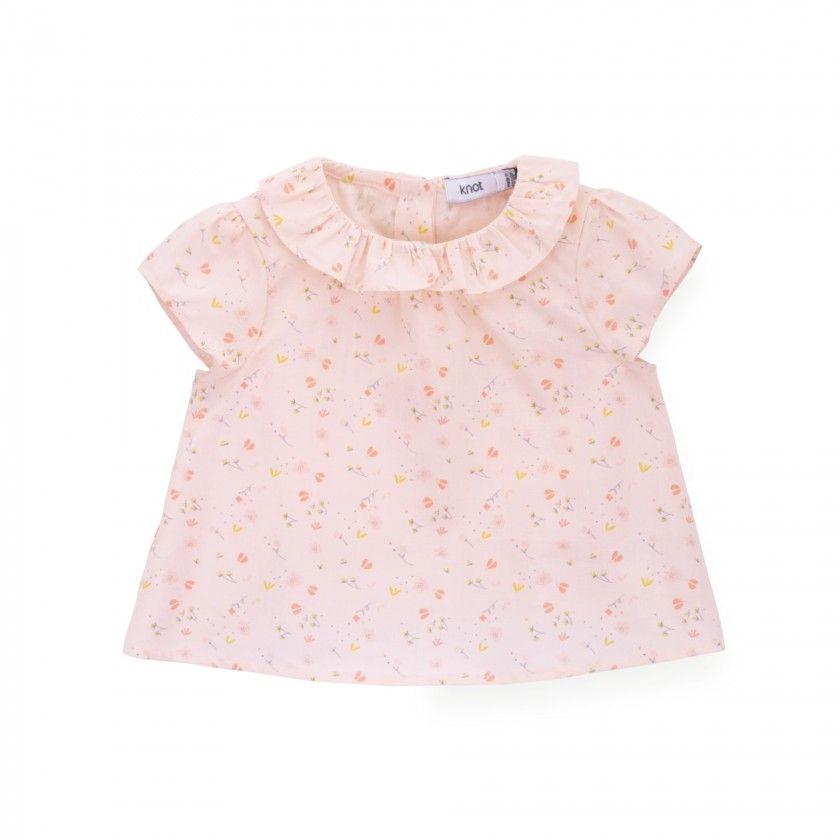 Blusa bebé voile Florence