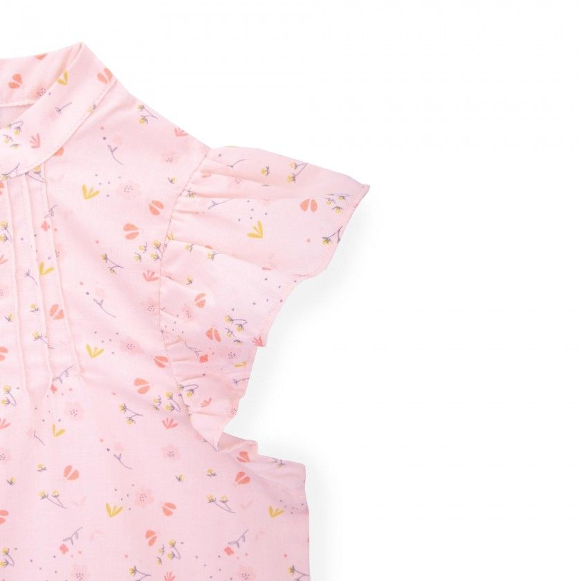 Concha voile girl blouse