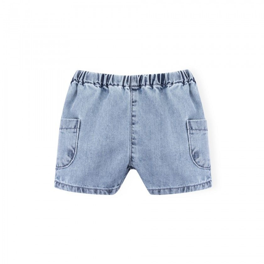 Reno denim baby shorts