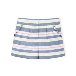 Nautical voile girl shorts