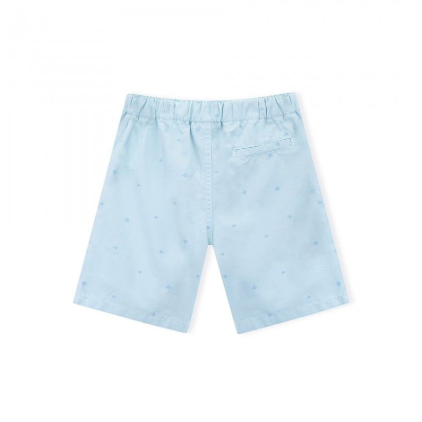 Tangram canvas boy shorts