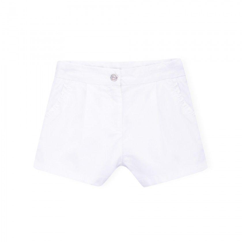 Emily cotton twill shorts