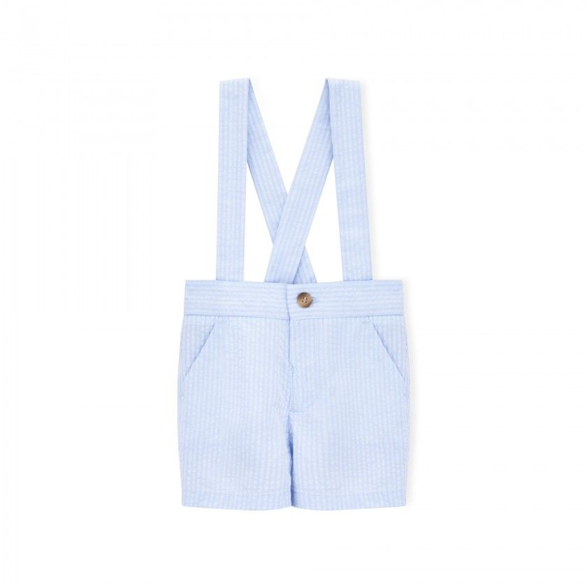 Jeremy baby shorts with straps