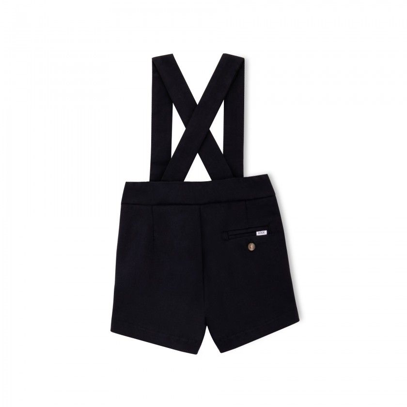 Party baby shorts with straps