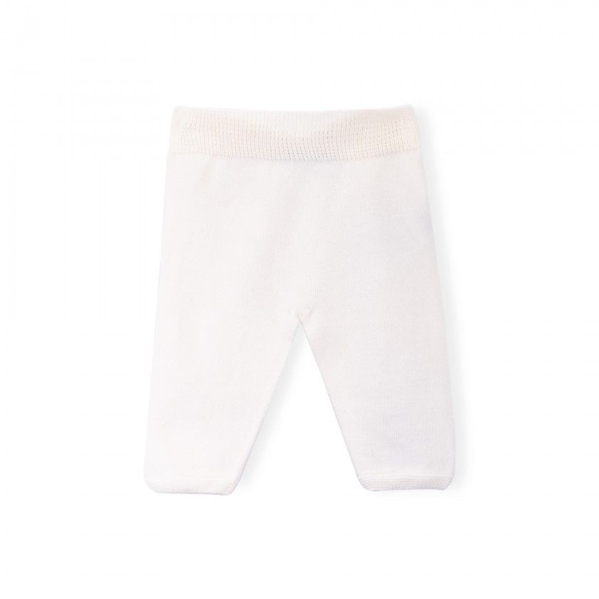 Eli knitted baby trousers