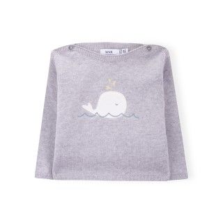 Edgar knitted baby sweater