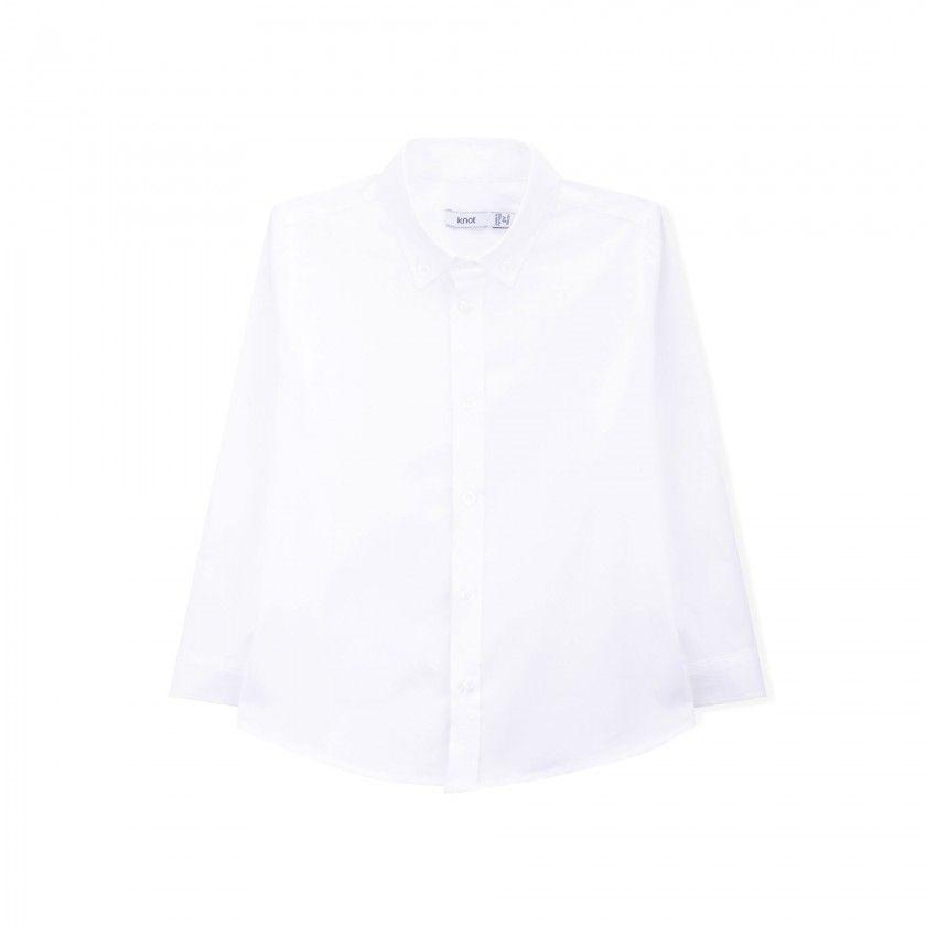 Camisa algodão Oxford