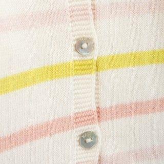Casaco bebé tricot Dahlia