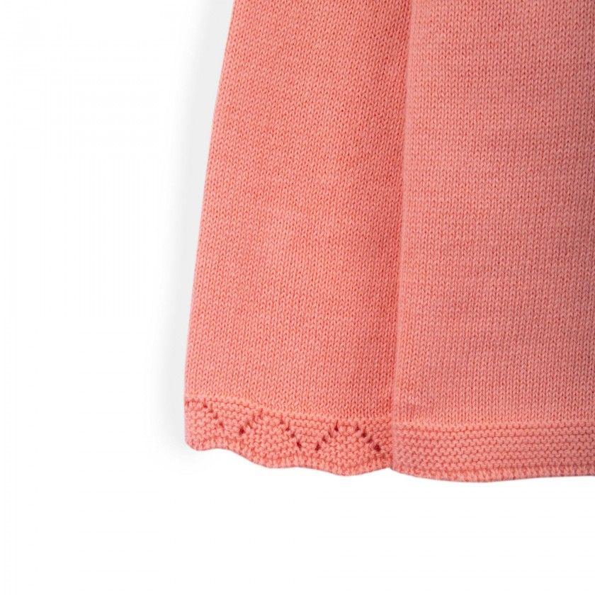 Casaco menina tricot Julie