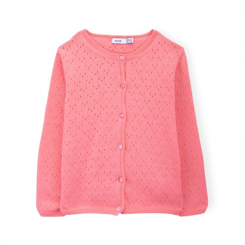 Beatrix knitted girl cardigan
