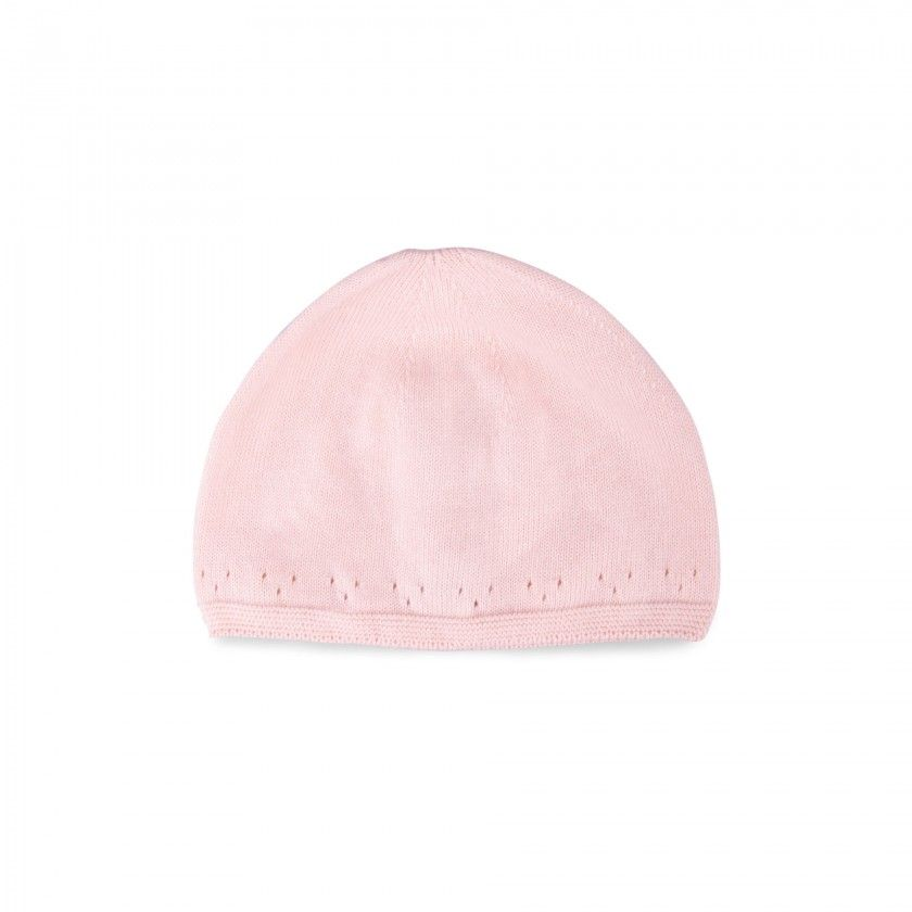 Aleena knitted cotton beanie