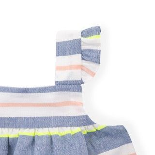 Louise voile pinafore