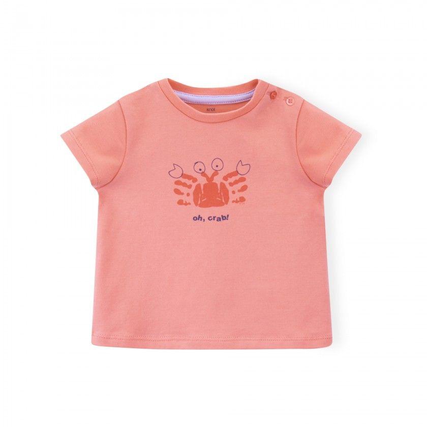 T-shirt bebé Oh crab