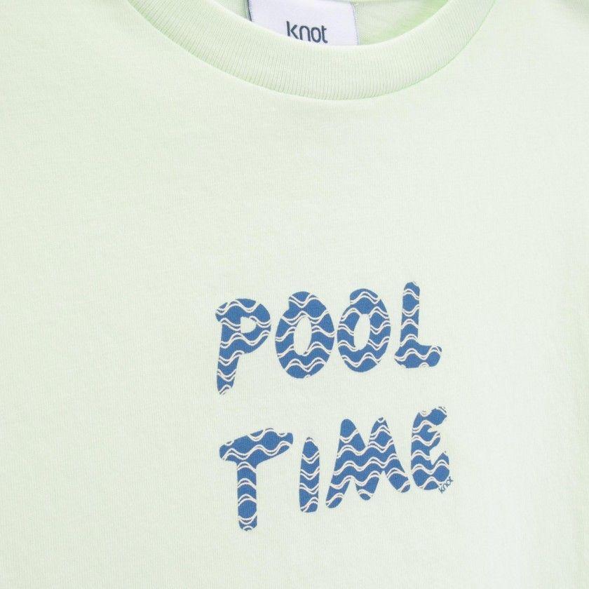 T-shirt menino Pool Time
