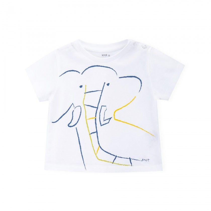 T-shirt Elefante