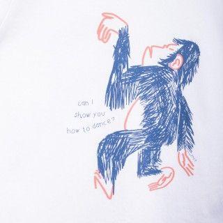 T-shirt menino Monkey
