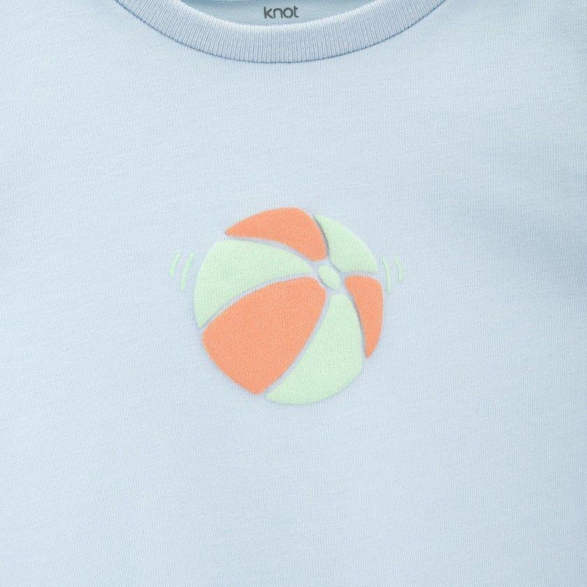 T-shirt bebé Fish play ball