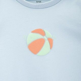 Fish play ballbaby t-shirt