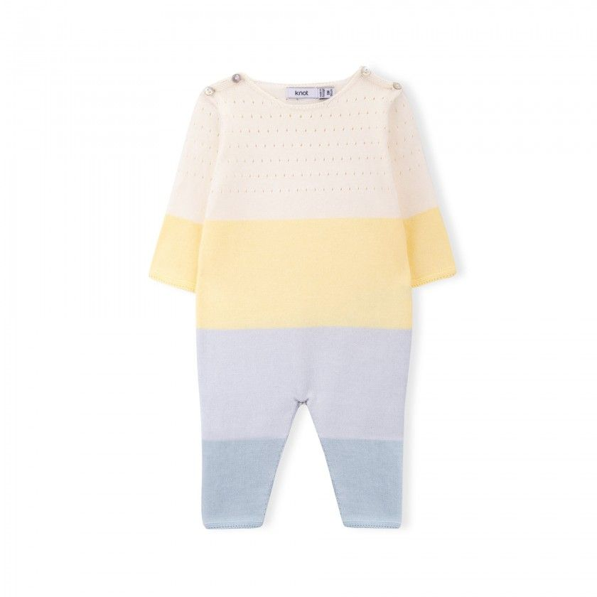 Macacão menino tricot Splash