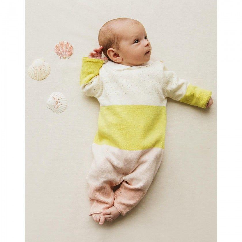 Macacão menina tricot Aurora
