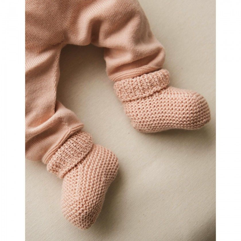 Botinhas tricot Hali