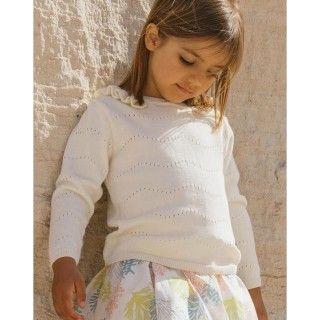 Camisola menina tricot Wanda
