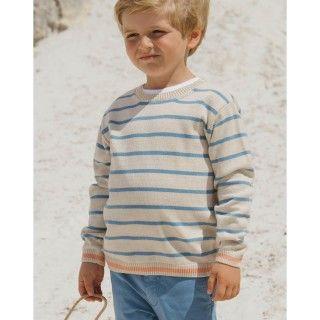 Camisola menino tricot Fisherman
