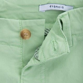 Francis cotton twill boy shorts