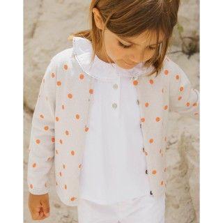 Casaco tricot Polka Dots