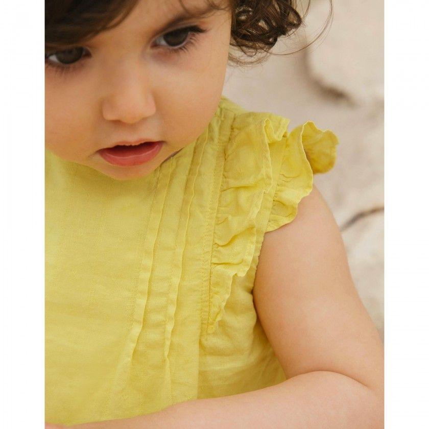 Vestido bebé voile Dalila