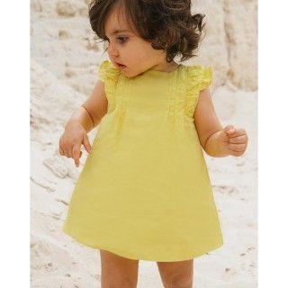 Vestido bebé algodão Dalila