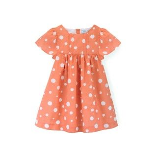 Reverse Pool Dots Dress