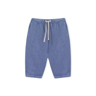 Dylan chambray baby trousers