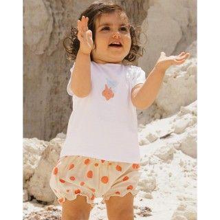 Calções bebé algodão Pool Dots