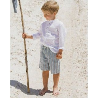 Thomas cotton twill boy shorts