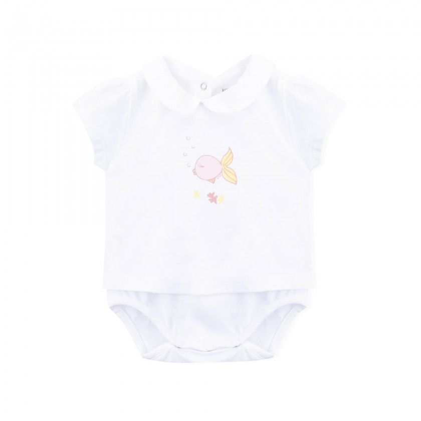 Pinkie Fish body T-shirt