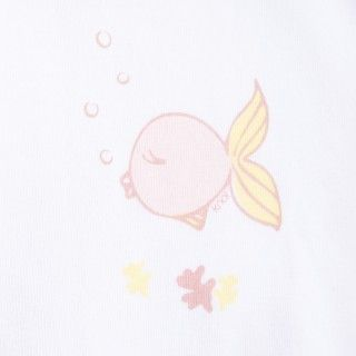 Body t-shirt bebé Pinkie fish
