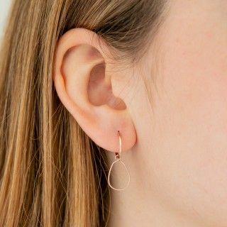 Sterling silver timeless earrings.