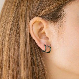 Sterling silver timeless earrings