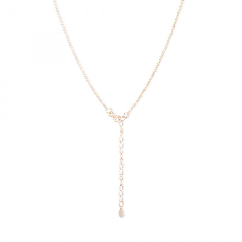 Golden silver chain