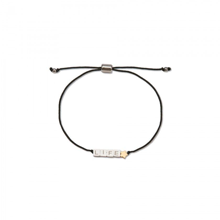 LIFE cord bracelet